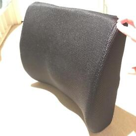 Lumbar support cushion for back