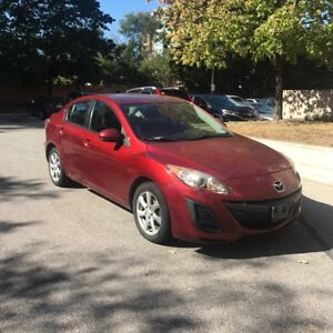 TODAY ONLY: 2011 Mazda 3 - Low km - Safety - Brand New Tires