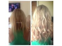 ****Pre-bonds, Micro-rings, Micro-ring Weft, Russian, European or Indian hair Extension!****