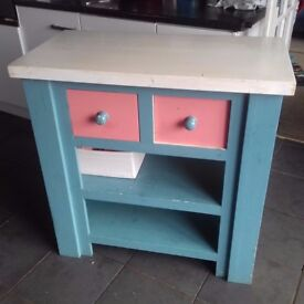 unique display unit and matching dresser