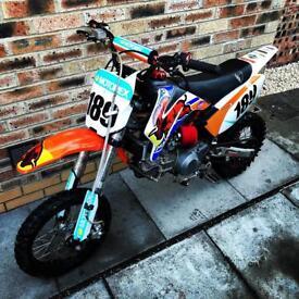Demon X Detroit 170cc Pitbike