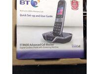 BT 8600 cordless phone and answer machine
