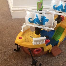 Pirate Ship Fisher Price