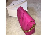 Marc Jacobs pink and gold handbag NEW