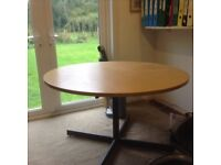 Round Office Table 120 cms diameter