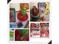 Games Kerplunk, Cars Monopoly, Pop-up Pirate