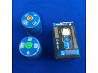 123goforit Campingaz Lumostar Plus Lantern with CV470 Canisters and extra mantles, excellent cond