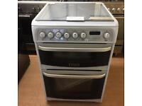 Cannon white 60cm gas cooker (fan oven)