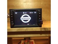 Nissan 7,2 inch Factory Model Sat Nav Stereo DVD /Bluetooth/ Full HD model Bluetooth