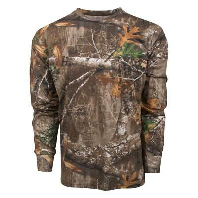 (King's Camo Realtree Edge Classic Cotton Long Sleeve Shirt All Sizes)