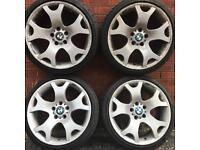 bmw 19 inch tiger claw alloy wheels & tyres 3 series alloys rims 235 35 x5 f10 5 f30 e90 e46