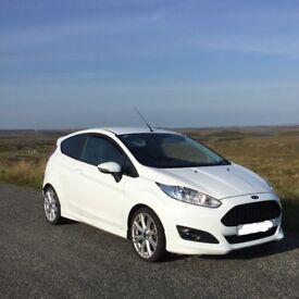 Ford Fiesta Zetec S 1.0 Ecoboost, £0 tax, 125 bhp