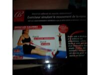 Rowing machine exerciser & more New items