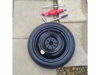Space saver spare wheel for Mazda MX5