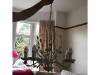 Next cream chandelier