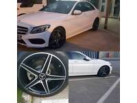 Swappin mercedes c class 18inch with tyres all good for 19inch with tyres