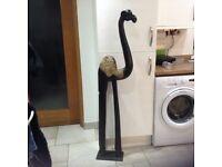 Tall wooden camel