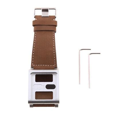 Matt Lederband Uhrenarmband Ersatzarmband für iPod  6. Brown Leder Ipod Armband