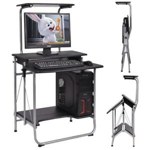 Folding Computer Desk Laptop PC Table Workstation Study Writing Home Office - BRAND NEW - FREE SHIPPING