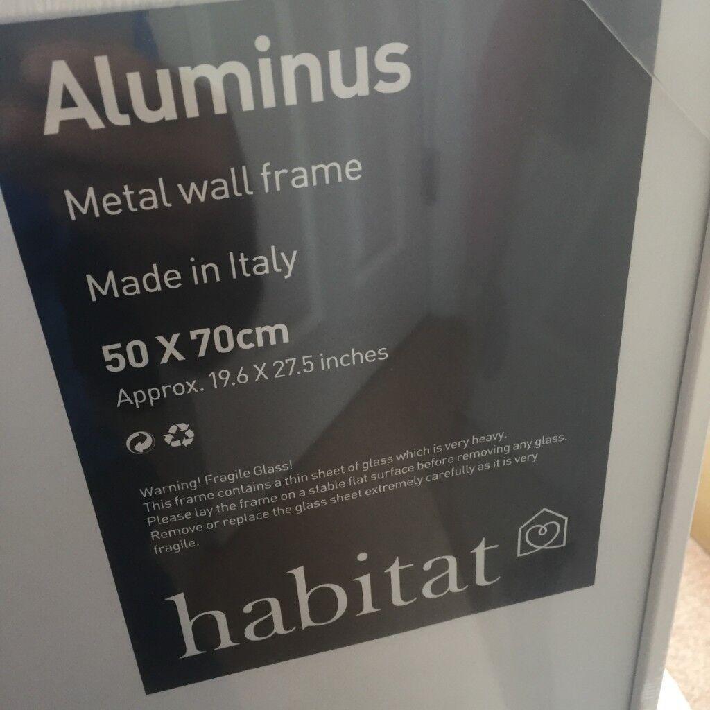 HABITAT ALUMINUS 50 X 70cm/ 20 X 28\