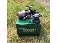 shimano baitrunner XT 8000 RB carp reel