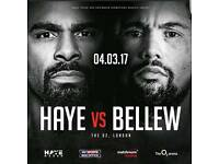 David Haye vs Tony Bellew