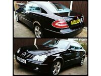 Mercedes-Benz CLK 200 Rare 6 Speed Manual with only 66k Miles FRESH MOT, FULL HISTORY, LOG BOOK