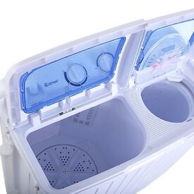 Spin cycle portable washer dryer, 6KG. Collection only