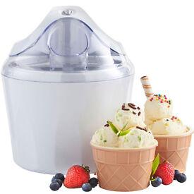NEW Global Ice Cream, Sorbet, Slushie & Frozen Yoghurt Maker Machine BL1400A 1.4l capacity 7104582