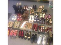 Huge bundle of ladies shoes