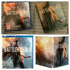 Battlefield 1 steelbook edition for PS4