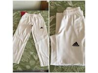 Adidas cricket trousers