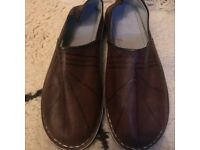 New genuine leather mens moroccan slippers