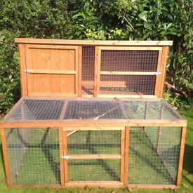 Pets at Home Hawthorne Guinea Pig/ Rabbit hutch