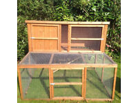 Pets at Home Hawthorne Guinea Pig/ Rabbit hutch