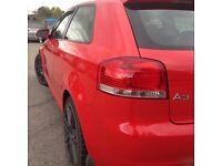 Audi A3 S-line 2.0TDI Quattro