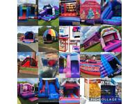 Bouncy castles disco domes toddler zones soft play mega slides drop zone and more