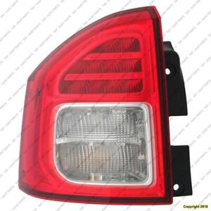 Tail Light Driver Side High Quality Jeep Compass 2011-2013