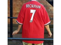 Retro Manchester United Beckham shirt