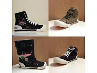 Wholesale - Rocket Dog High Top Trainers Size 4-8 UK