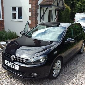"VW GOLF ""GT"" TDI DSG AUTOMATIC 140bhp , LOW MILES"