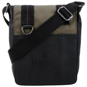 "Buffalo BUF078415CA Breaker 8.5"" Tablet Crossbody Bag - Khaki (New Other)"