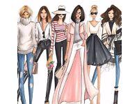 Retailer / Salesperson / Female Entrepreneur / Boss Lady