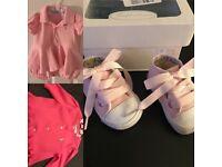 Ralph Lauren baby crib shoes & Romper