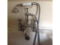 Old fashion Shower Mixer Tap and Shower Hose