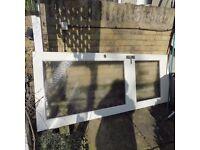 Glazed wooden door 197cm x 77cm