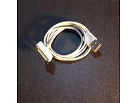 Charging cable for iPhone 3G, 3Gs, 4 and 4s - white, 30 pin, USB 2.0