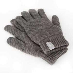 Moshi Digits Capacitive Gloves, L/XL, Dark Grey