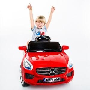 6V Kids Ride On Car RC Remote Control Battery Powered LED Lights - BRAND NEW - FREE SHIPPING