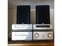 Technics Hifi with Jamo Speakers